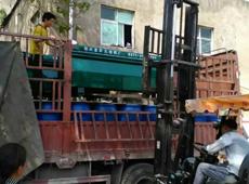 """为""""武汉军工厂""""棉被流水线定制机器发货中"""