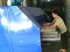 四川樊枝花周老板选定金阳光棉机